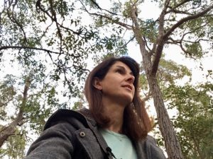 Tricia in the trees